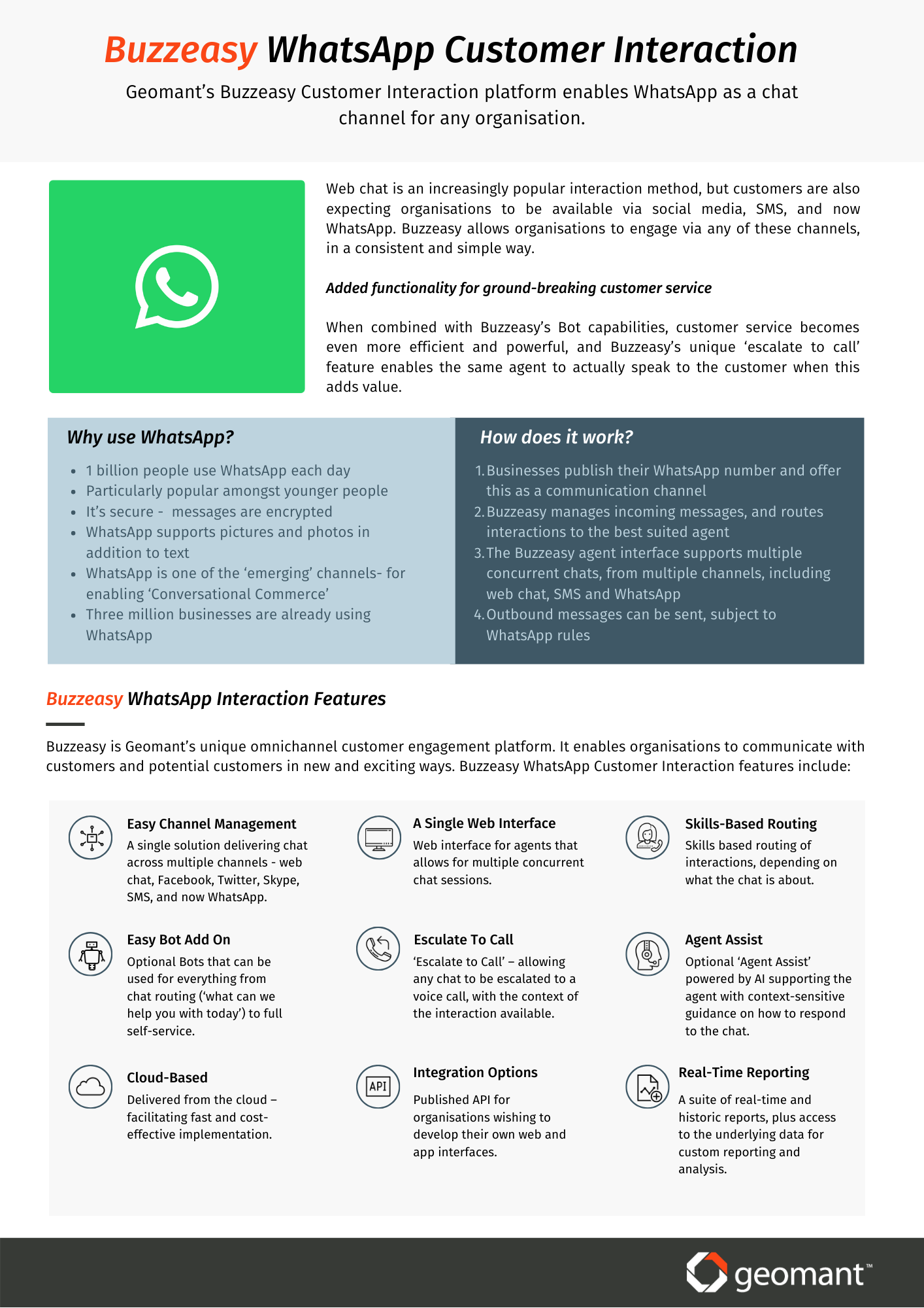 Buzzeasy WhatsApp Screenshot 1