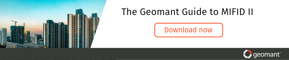 Geomant guide to MIFID II